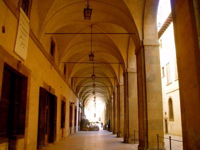arezzo arcades