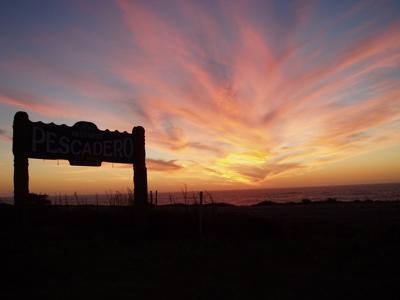 sunset pescadero
