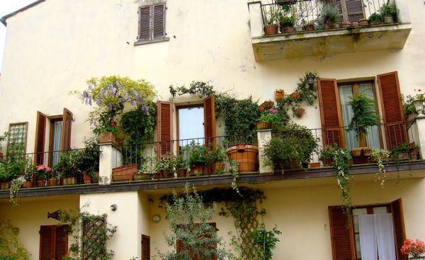 arezzo balcone