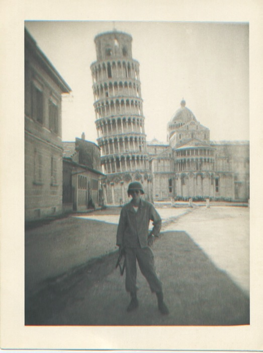 dad at pisa