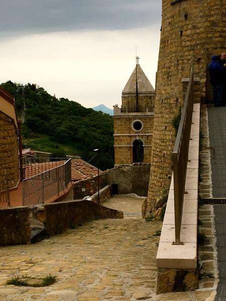 walkway to castle